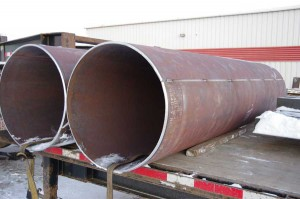 5 in x 30in OD vessel shell ready for delivery