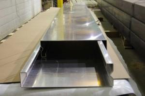 Aluminum hose trays