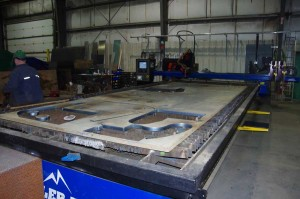 High Definition Plasma Table 5 Axis