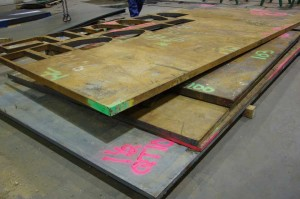QT 100 plate to be plasma cut products